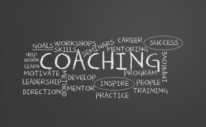 Coaching chalkboard